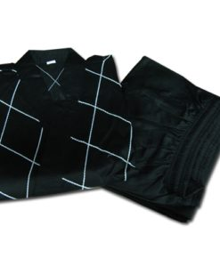 Black Hapkido Gi karate uniform black and white