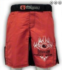 dragon light weight mma shorts
