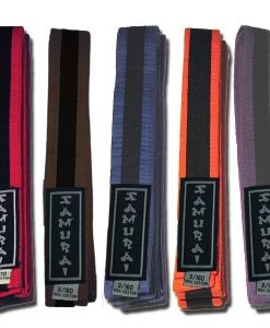 Grading Belts With Black Stripe