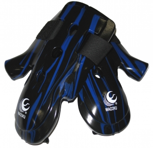 Dipping Hand Mitts- Long- Blue & Black