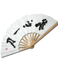 Bamboo Fighting Fan