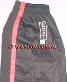 Elastic Gi pants - One Stripe Black Pants