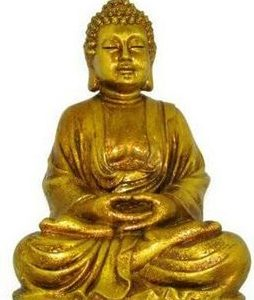 30CM ANTIQUE GOLD BUDDHA