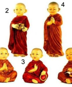 15-25CM CHILD BOY BUDDHA MONK 5 designs
