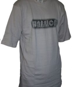 warrior tshirt grey