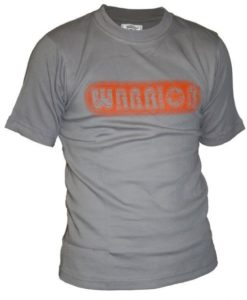 warrior shirt grey