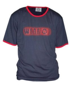 warrior shirt blue