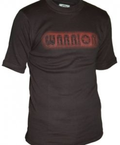 warrior shirt brown