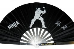 Metal Fighting Fan - Ninja