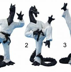 31CM KUNG FU DRAGON WITH BLACK BELT 3 Designs