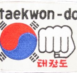 Tae Kwon Do Fist emblem