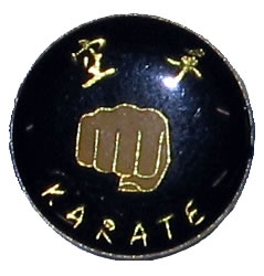 Karate Fist Pin