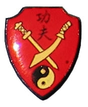 Kung Fu Swords Pin