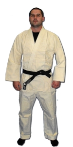 Single Weave Judo Gi - Natural