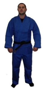 Single Weave Judo Gi - Blue
