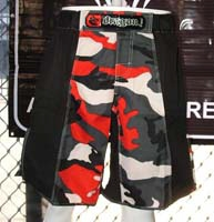 dragon platinum mma shorts