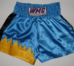 MTG Shorts - Blue with Yellow flame