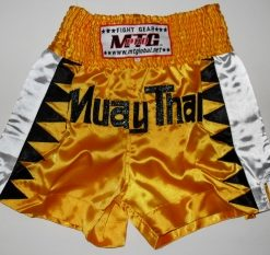 MTG Shorts - Yellow with black Triangles
