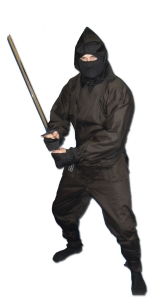 Black Full Ninja Gi