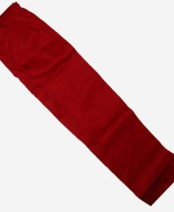 elastic karate gi pants red