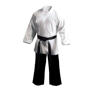 Poly/Cotton Karate Gi Salt & Pepper