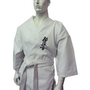 karate uniform white