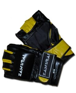 WWMAW Leather MMA Gloves