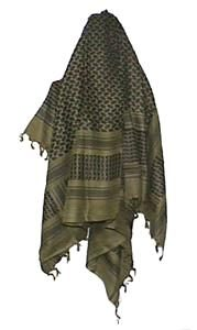 Shemagh Military Style Scarf (110x115cm)