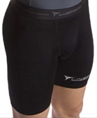 Linebreak Shorts Compression Black