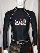 Dragon Fight Wear MMA Lycra rash guard top
