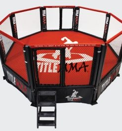 WWNA competition octagon cage