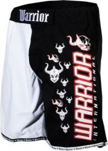 Warrior Blk/Wht Shorts