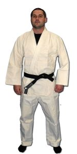 Single Weave Judo Gi - White