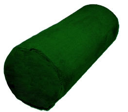Cotton Yoga Bolster Green