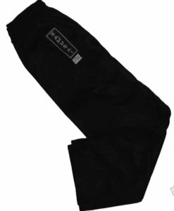 karate pants black elastic waist