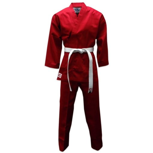 karate uniform red